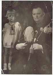 Foto oma en haar vader