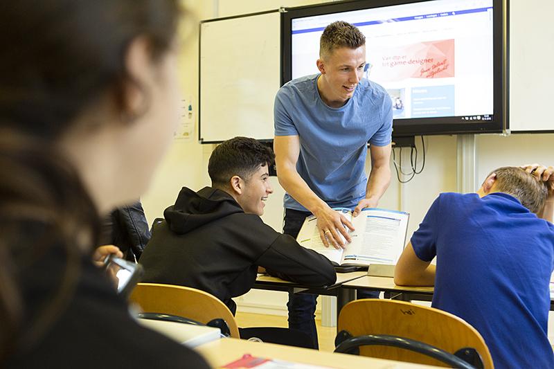 Motiverende speech voor leerlingen
