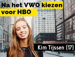 Kim Tijssen: Een dagje helpen in de studio bij een tv-programma. Geweldig!
