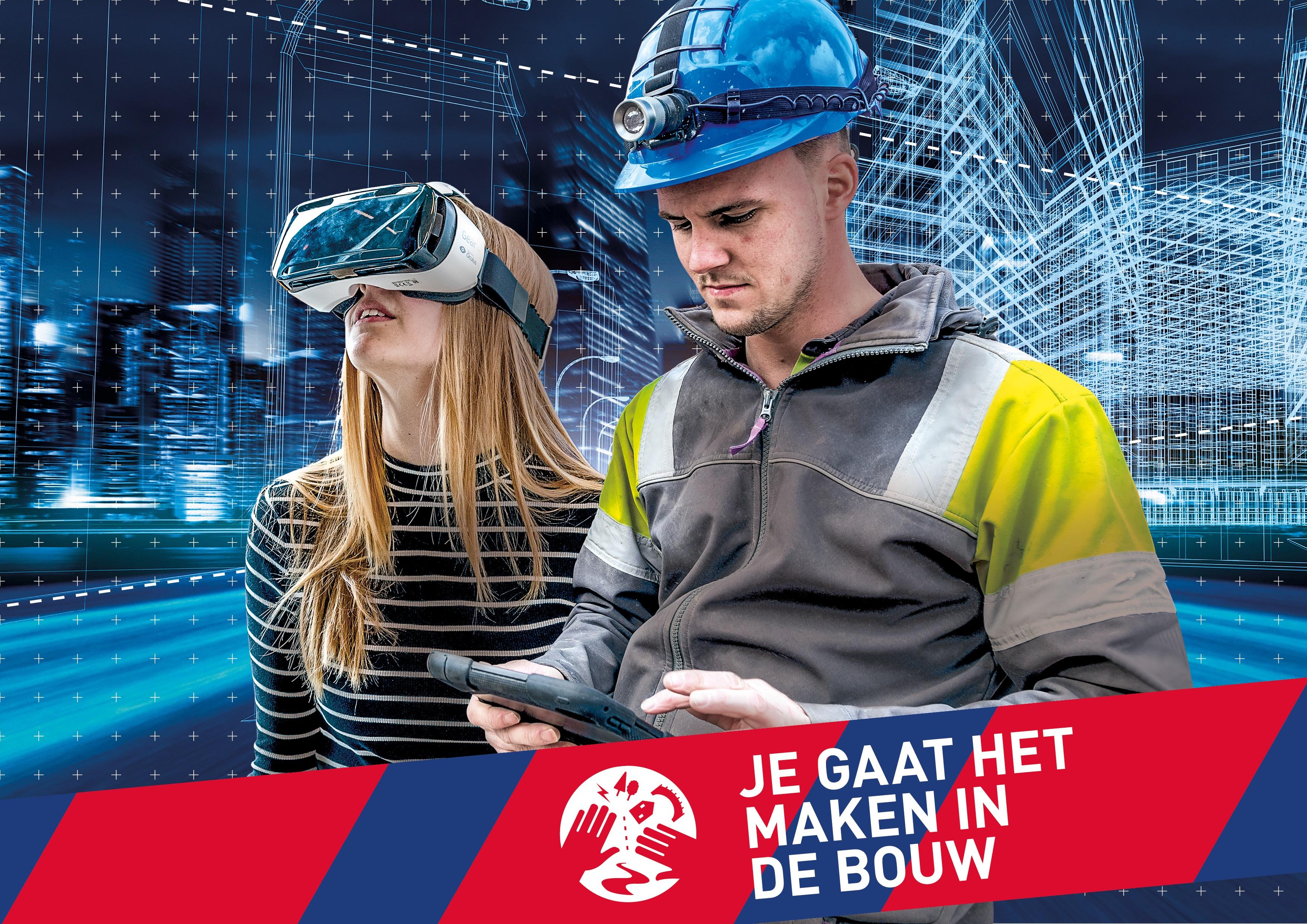 Wil jij meehelpen Nederland en de rest van de wereld mooier en beter te maken? Dan is een studie in de bouw echt iets voor jou