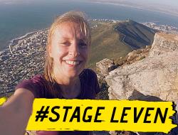 Kirsten liep stage in Zuid-Afrika: 'Met leuke huisgenoten voel je je sneller thuis.'