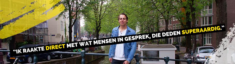 TKMST | 'Toen ik met mijn studie in Amsterdam begon, kende ik niemand'