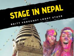 Britt gaat back to basic naar Nepal