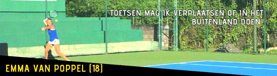 TKMST | Topsportster Emma combineert tennis met school en haar vrienden zien