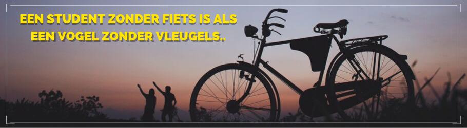 Waarom een fiets de student zijn of haar belangrijkste bezit is