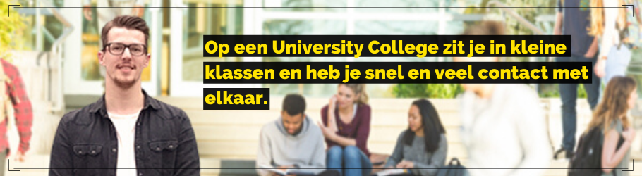 University College Venlo: stel je eigen studie samen