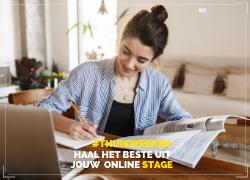 Zo kom jij je online stage door tijdens corona!