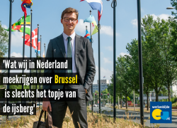 Wat we in Nederland meekrijgen over Brussel, is slechts het topje van de ijsberg