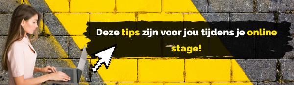 TKMST | Zo maak jij jezelf zichtbaar tijdens je online stage!