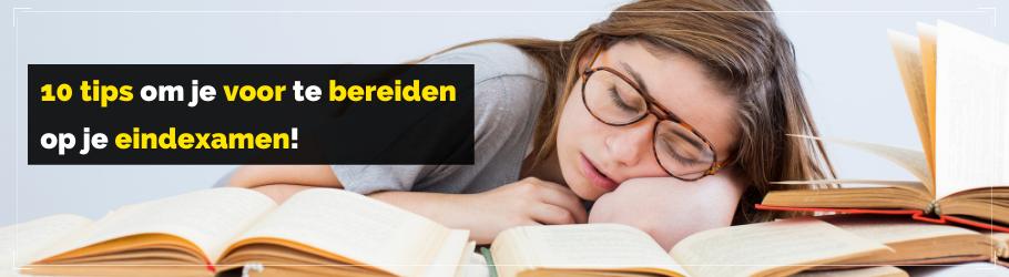 TKMST | Deze 10 tips helpen je bij het voorbereiden van je eindexamen!