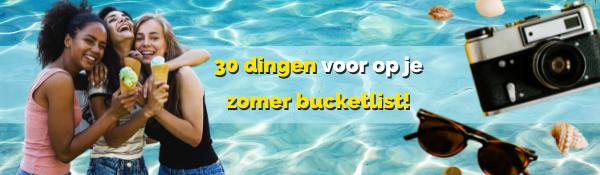 TKMST | 30 bucketlistideeën voor de zomer